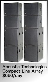 band pa, concert pa, blackbird cla, line array, hire, adelaide