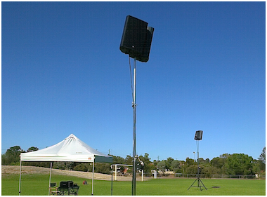 school sports day pa system hire