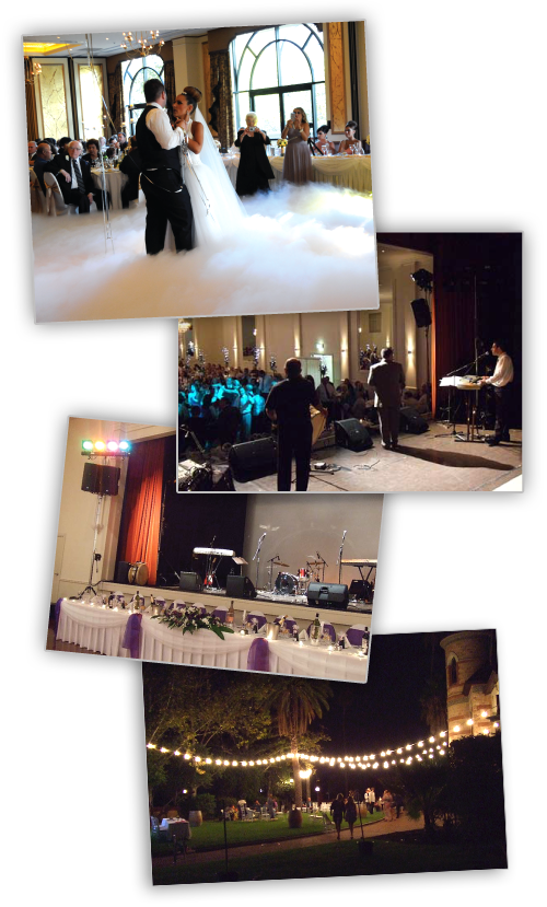wedding fog machine hire adelaide