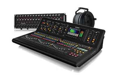 digital mixer, sound board, sound engineer, Midas, M32, DL32