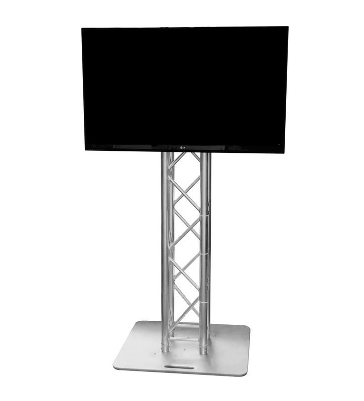 flat, screen, display, plasma, led, lcd, truss, column, tv, hire, rental, adelaide